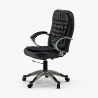 3d model office chair 02