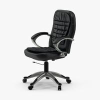 3d model office chair 02