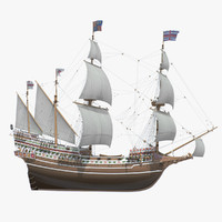 English Galleon HMS Revenge 1577