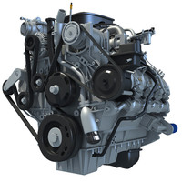 3d duramax engine