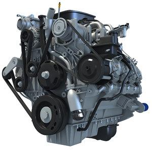 3d duramax engine