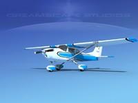 3d cessna 172 skyhawk