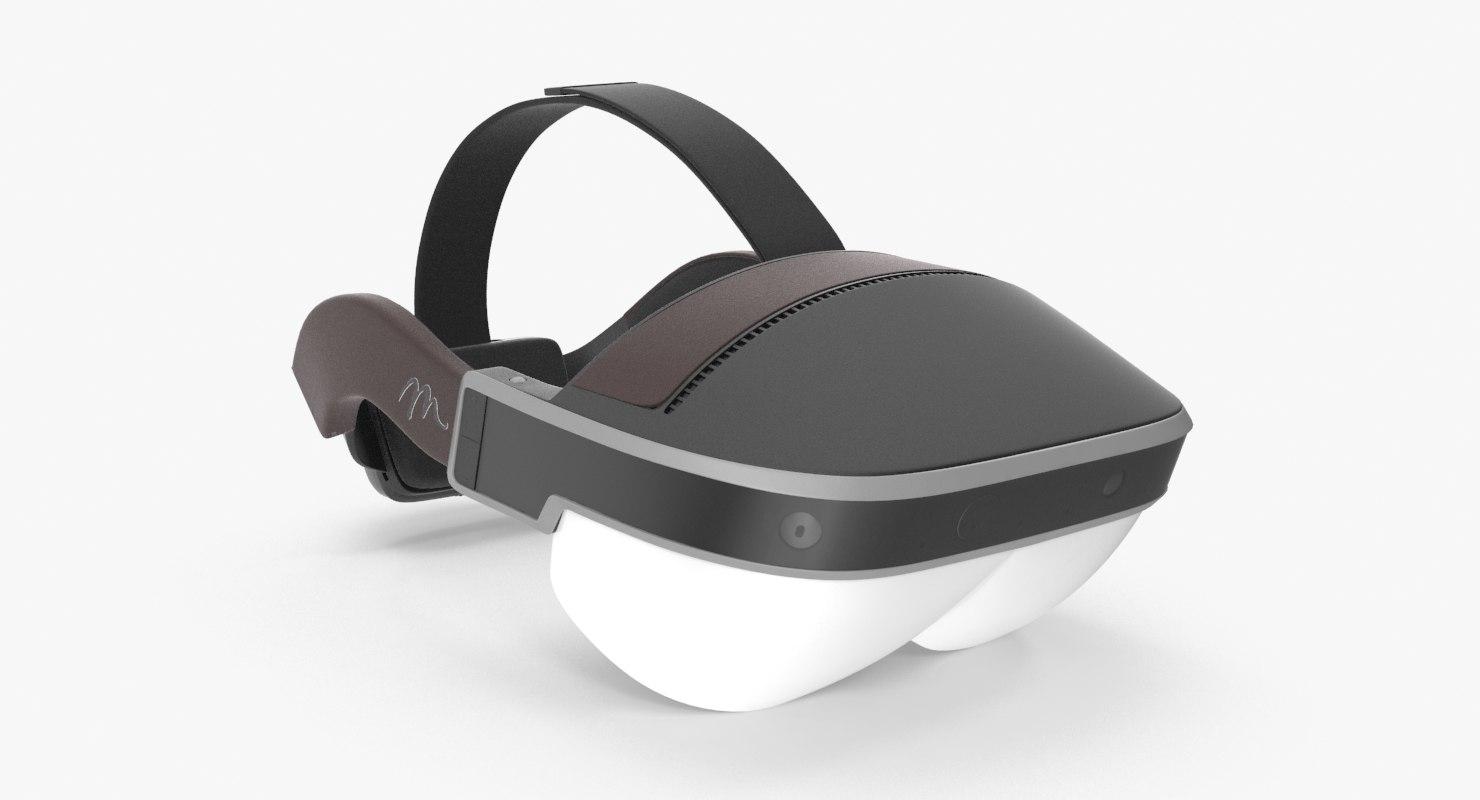 3d max meta 2 ar headset