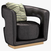 ellen armchair 3d model