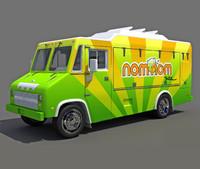 food truck 3d max