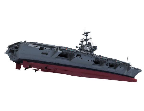 3d uss aircraft carrier