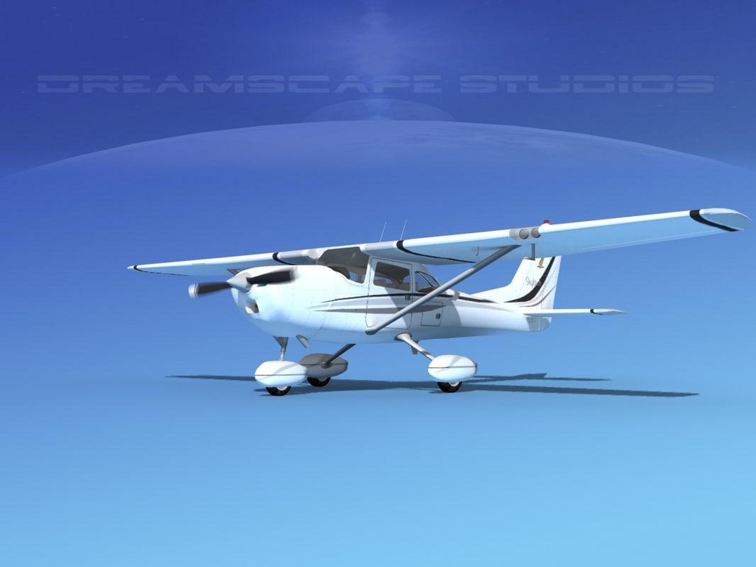 cessna 172 skyhawk 3d model