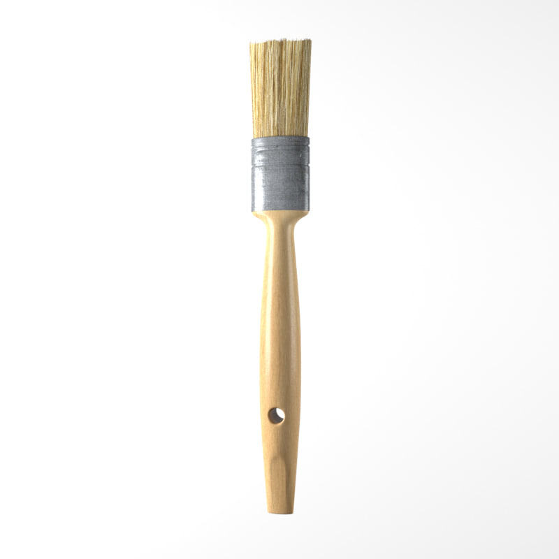 3d realistic brush model