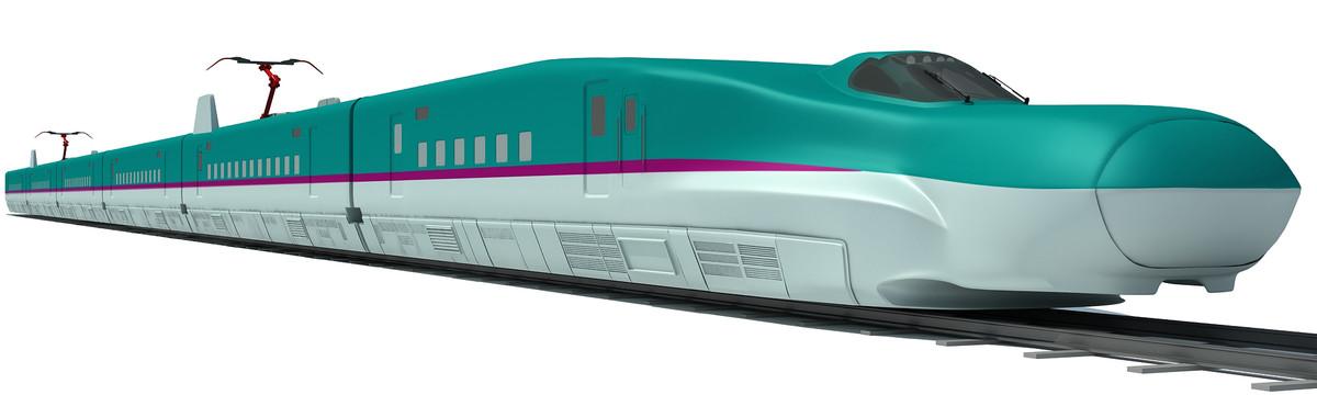 speed train 3d model