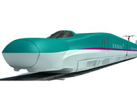 speed train 3d model