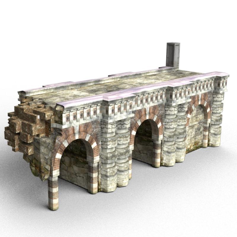 modular bridge obj