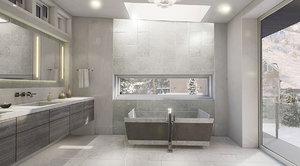 3d master bathroom ready vr
