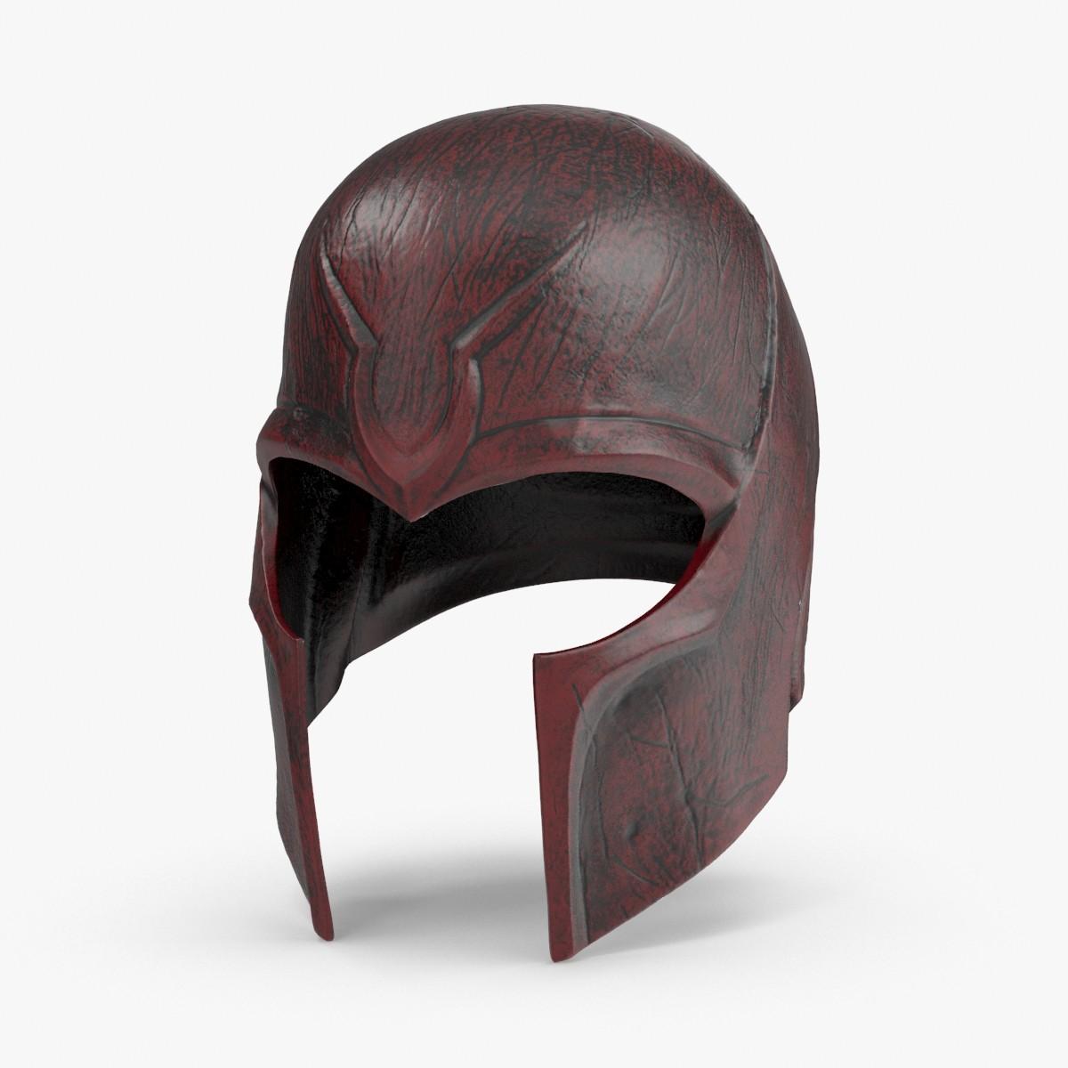 3d model magneto-helmet