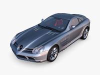 3d model mercedes-benz slr mclaren