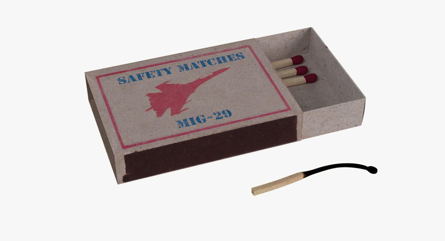 3d match mig-29 matchbox