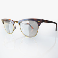 3d model eyeglasses clubmaster rb5154
