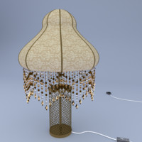 lamp design lighting obj