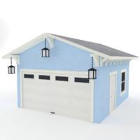 3d garage lanterns