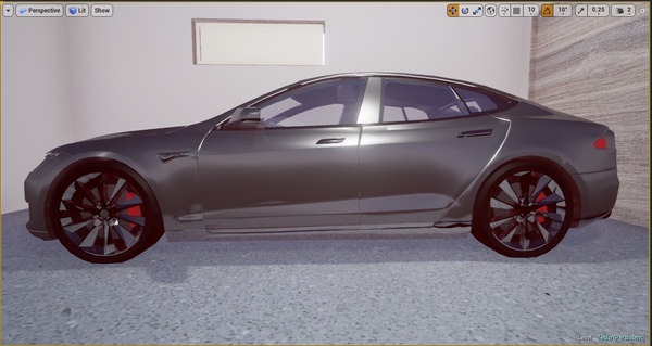 polys vr ready car 3d model