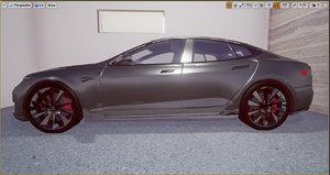 polys vr ready car 3d model