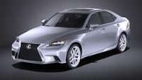 3d model 2016 lexus
