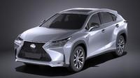 Lexus NX 2017 VRAY
