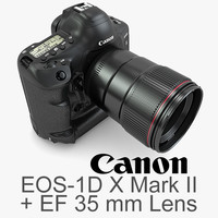 1 canon eos-1d x 3d model