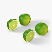 3d wrl lime cut