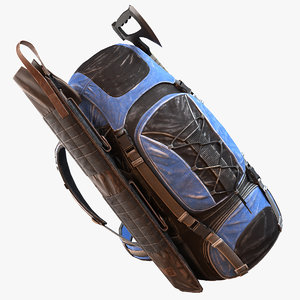 survivor s backpack 3d max