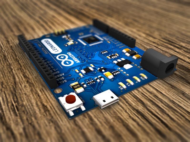 3d model arduino leonardo