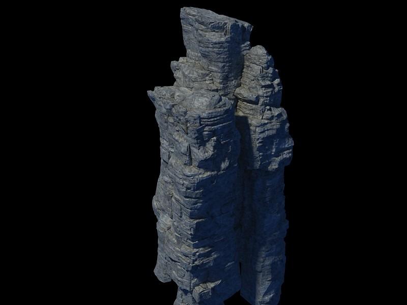 mountain hill landscape 3d max