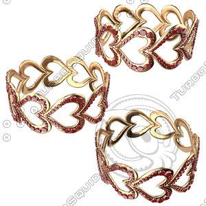 3ds bracelet