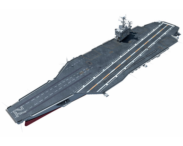 uss abraham aircraft carrier 3ds