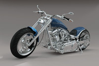 bike motorcycle 3d model