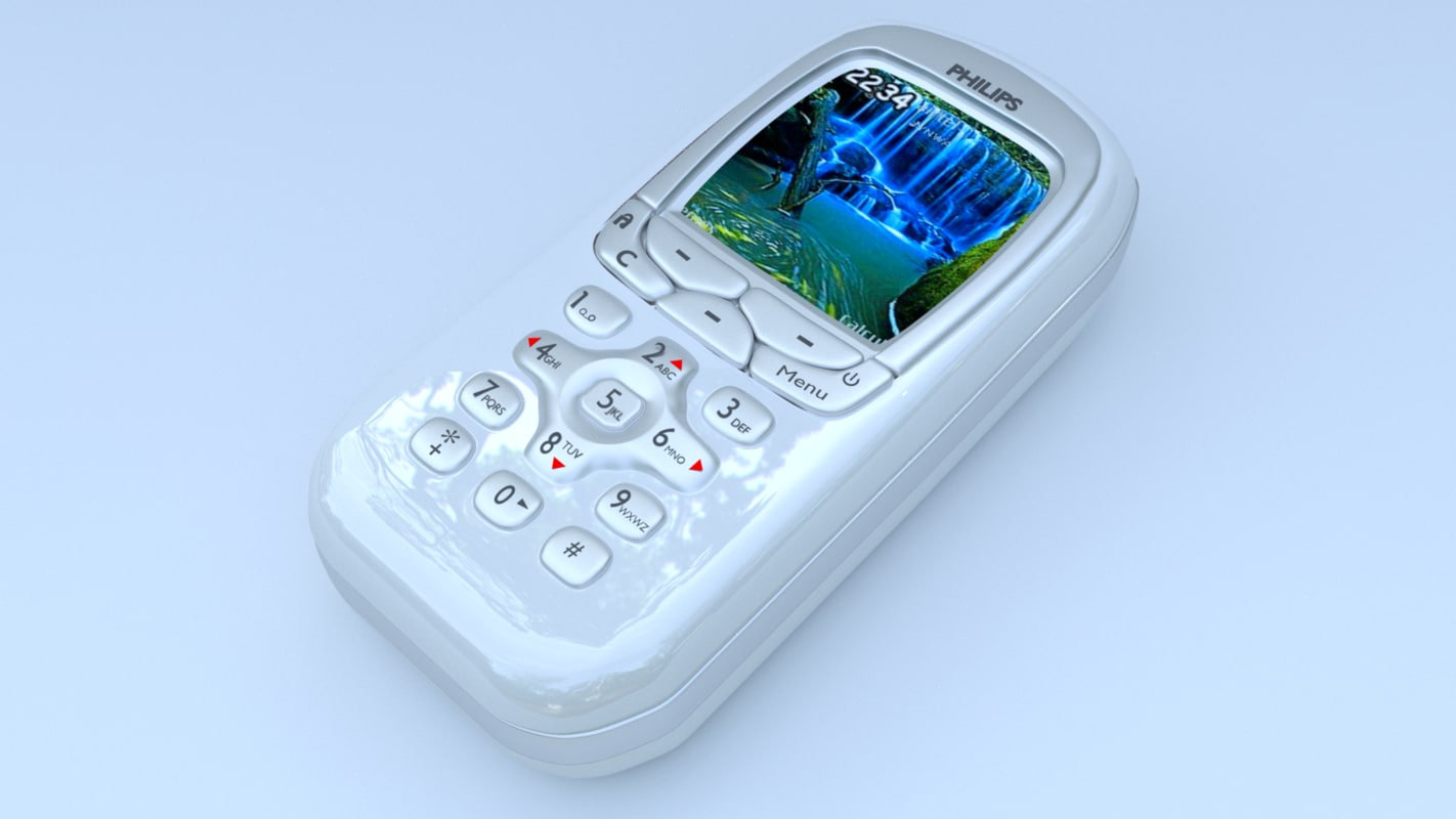 philips mobile 3d model
