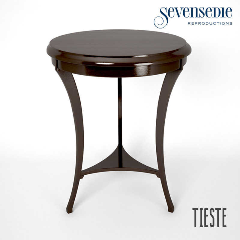 3d model seven sedie tieste table for Sedie design 3d
