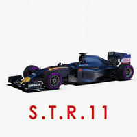 rigged f1 car wheels 3d 3ds