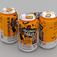 3d beer cornelius halloween 330ml