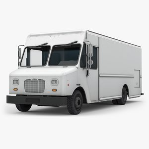 3d model of morgan olson step van
