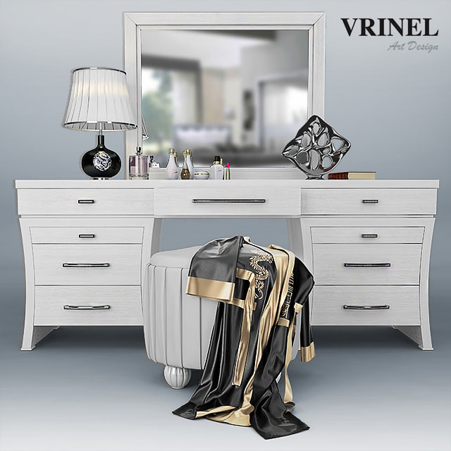 dressing table - vrinel 3d max