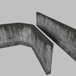 3ds concrete straight -