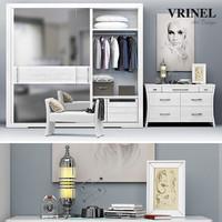3d model wardrobe - vrinel forever