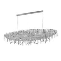 Lolli e Memmoli oval ceiling crystal chandelier