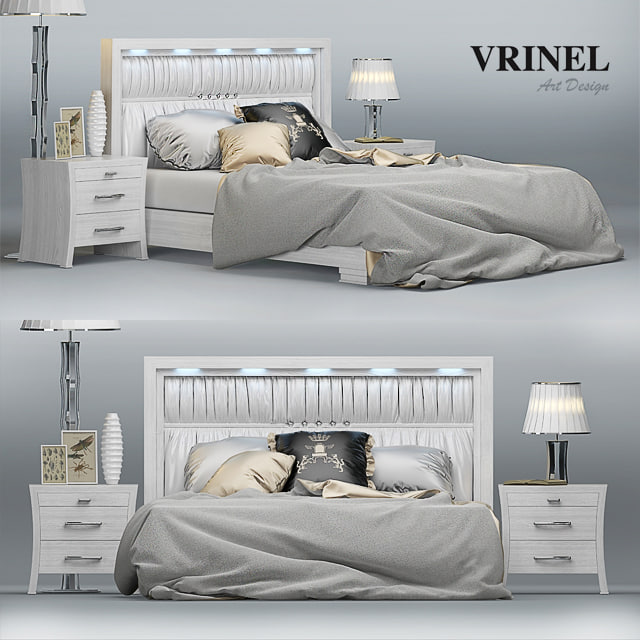 bed - vrinel forever 3d max
