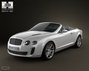 3d model bentley continental sport