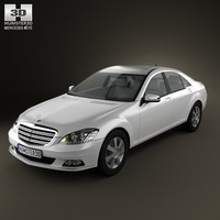 3d mercedes-benz s-class mercedes model