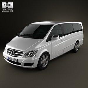 3d mercedes-benz viano 2011 model