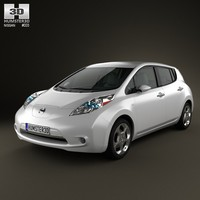 nissan leaf 2011 3d 3ds
