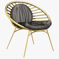 3d reeves chair model