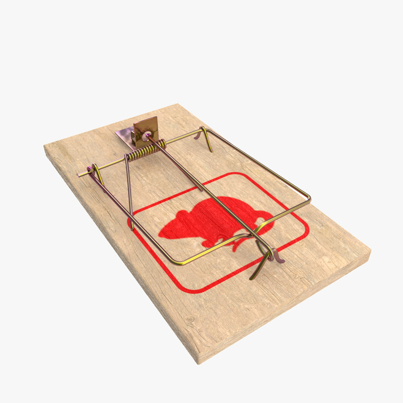 mouse trap 3d max